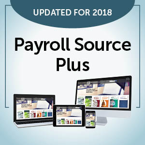 Updated for 2018 Payroll Source Plus