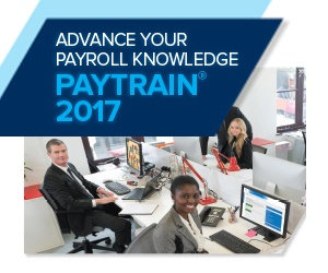 Advance your payroll knowledge with Paytrain 2017